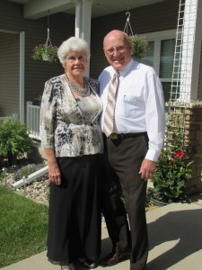 Two of the most precious and dearest people in my life - my mom and dad.